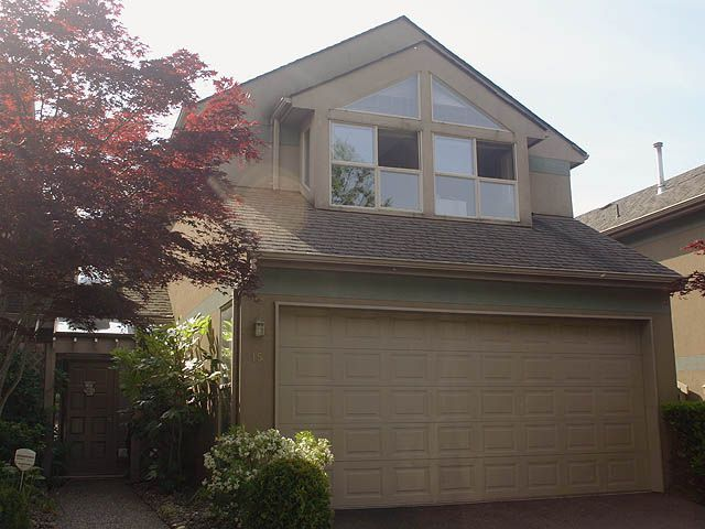"""Main Photo: 15 2058 WINFIELD Drive in Abbotsford: Abbotsford East Townhouse for sale in """"Rosehill"""" : MLS®# F1114740"""