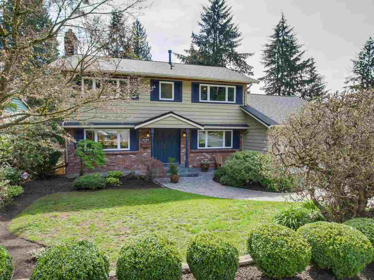 "Main Photo: 5153 SARITA Place in North Vancouver: Canyon Heights NV House for sale in ""Canyon Heights"" : MLS®# R2055631"