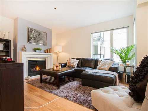 Main Photo: 203 1554 BURNABY Street in Vancouver West: Home for sale : MLS®# V1104674
