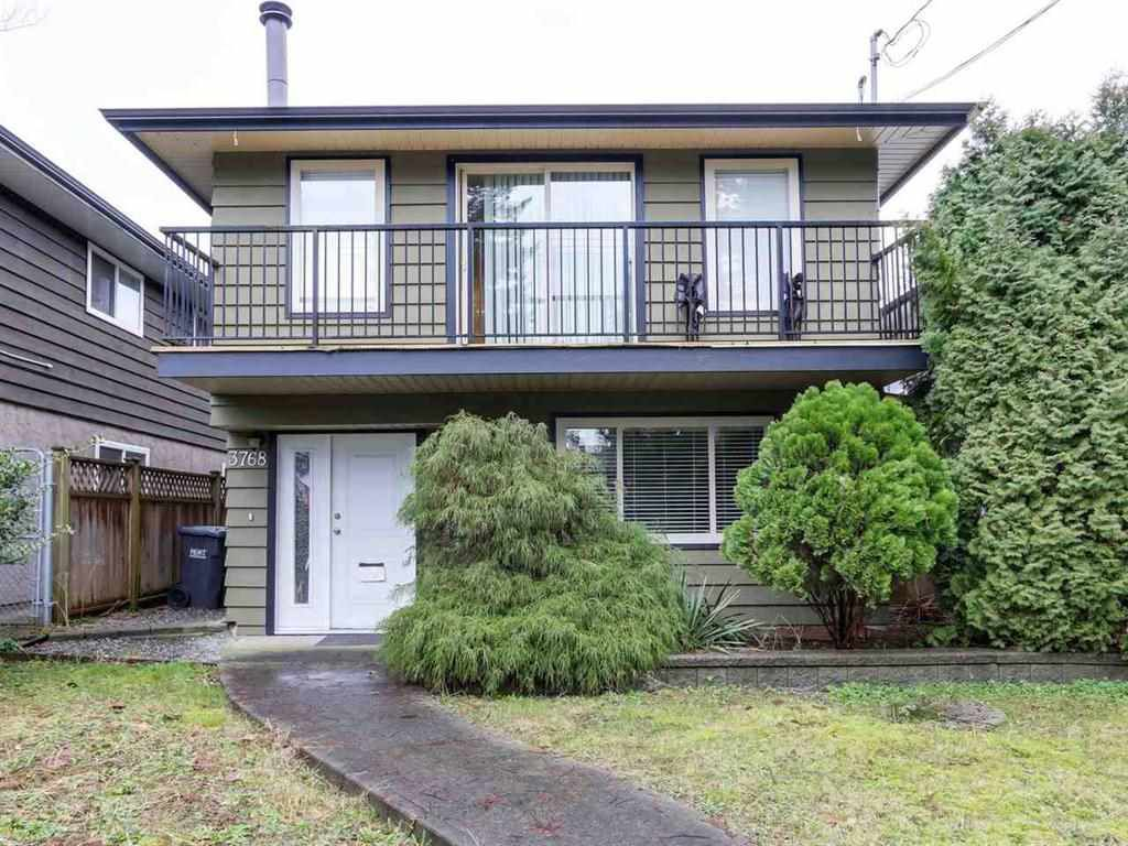 Main Photo: 3768 COAST MERIDIAN Road in Port Coquitlam: Oxford Heights House for sale : MLS®# R2148991