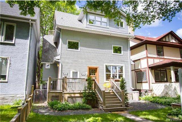 Main Photo: 204 Ruby Street in Winnipeg: Wolseley Residential for sale (5B)  : MLS®# 1713916