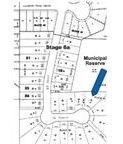 neighborhood plot plan showing cul-de-sac location