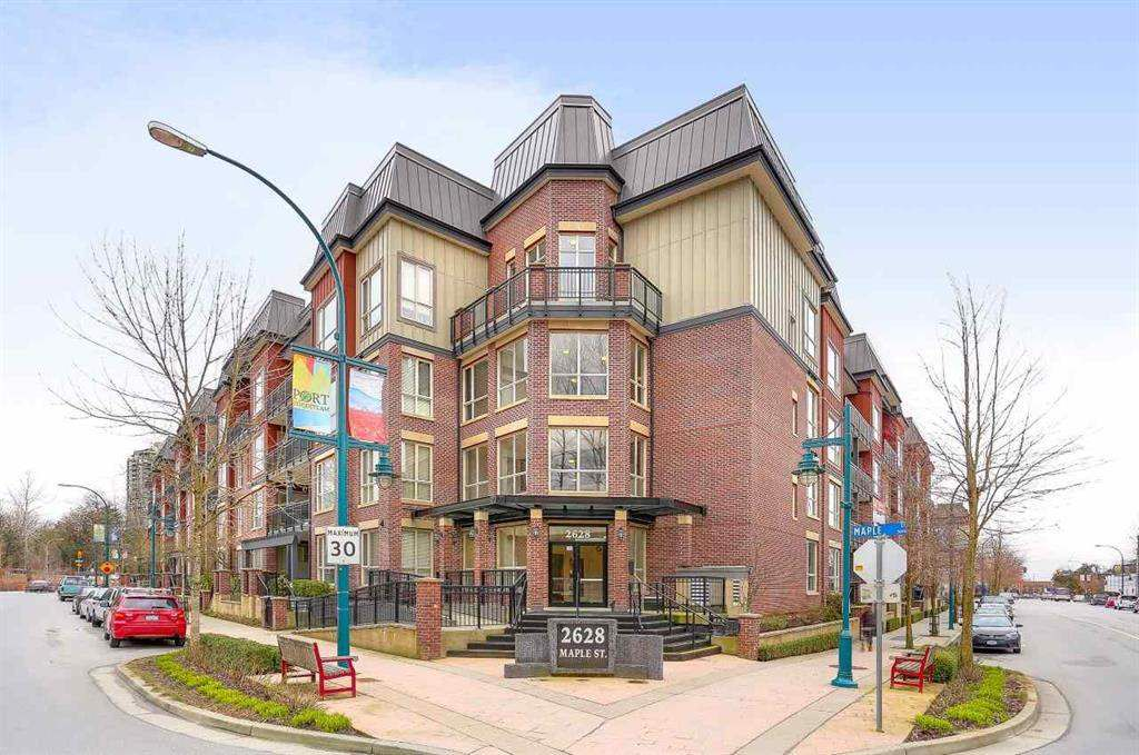 "Main Photo: 320 2628 MAPLE Street in Port Coquitlam: Central Pt Coquitlam Condo for sale in ""VILLAGIO II"" : MLS®# R2327173"
