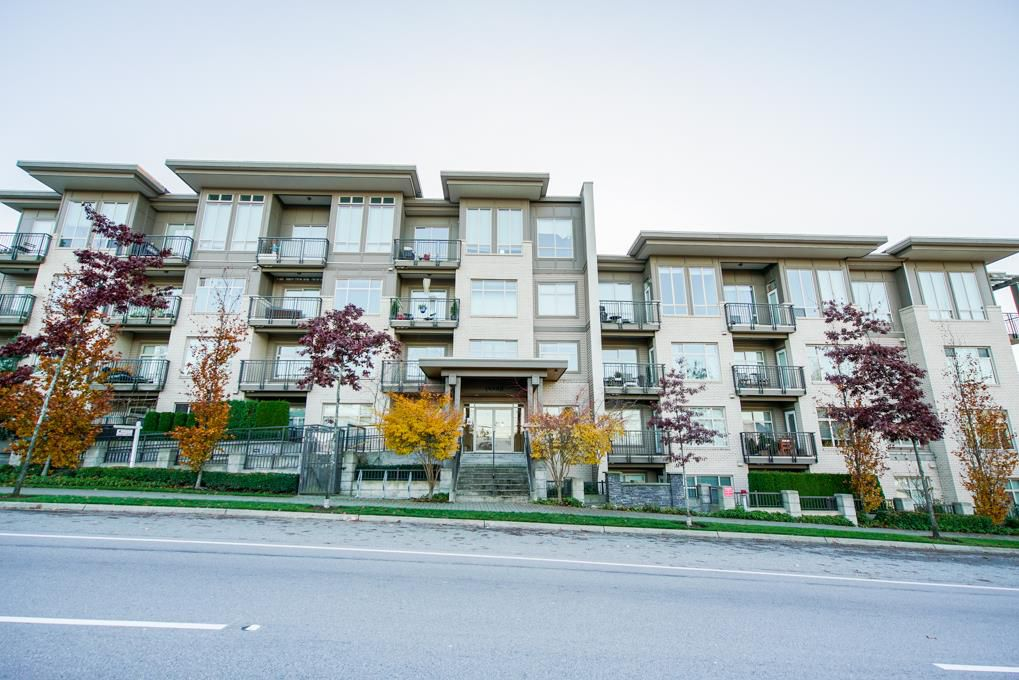"Main Photo: 114 13468 KING GEORGE Boulevard in Surrey: Whalley Condo for sale in ""The Brookland"" (North Surrey)  : MLS®# R2338302"