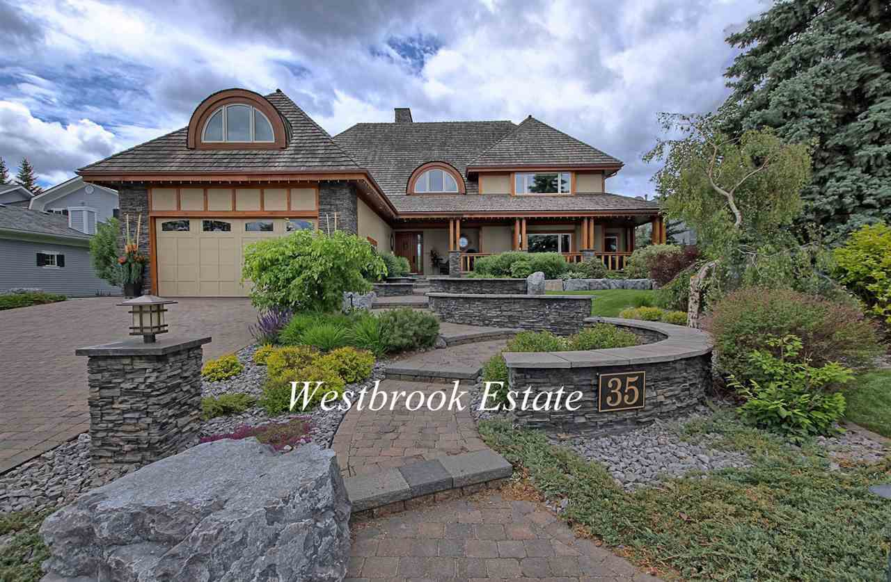 This home is located on one of Westbrook Drive's finest locations backing onto the ravine.