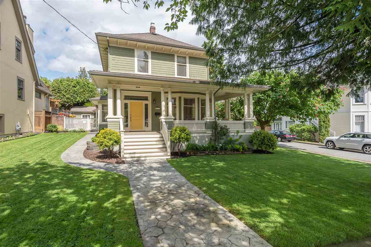 Main Photo: 231 THIRD Street in New Westminster: Queens Park House for sale : MLS®# R2371420