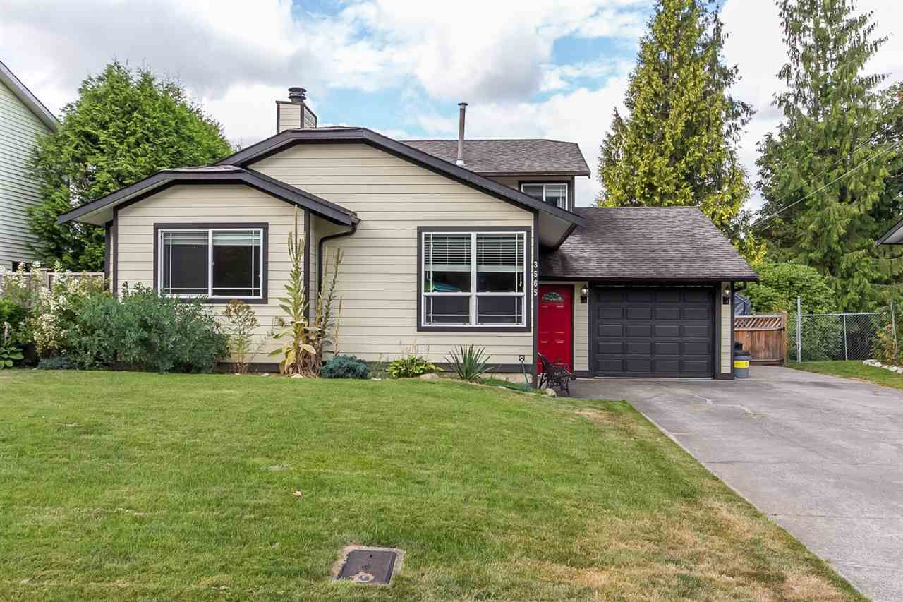 Main Photo: 3565 OLD CLAYBURN Road in Abbotsford: Abbotsford East House for sale : MLS®# R2100404