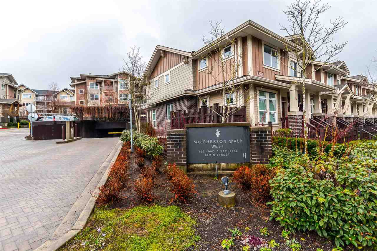 "Main Photo: 304 5665 IRMIN Street in Burnaby: Metrotown Condo for sale in ""MACPHERSON WALK WEST"" (Burnaby South)  : MLS®# R2150384"
