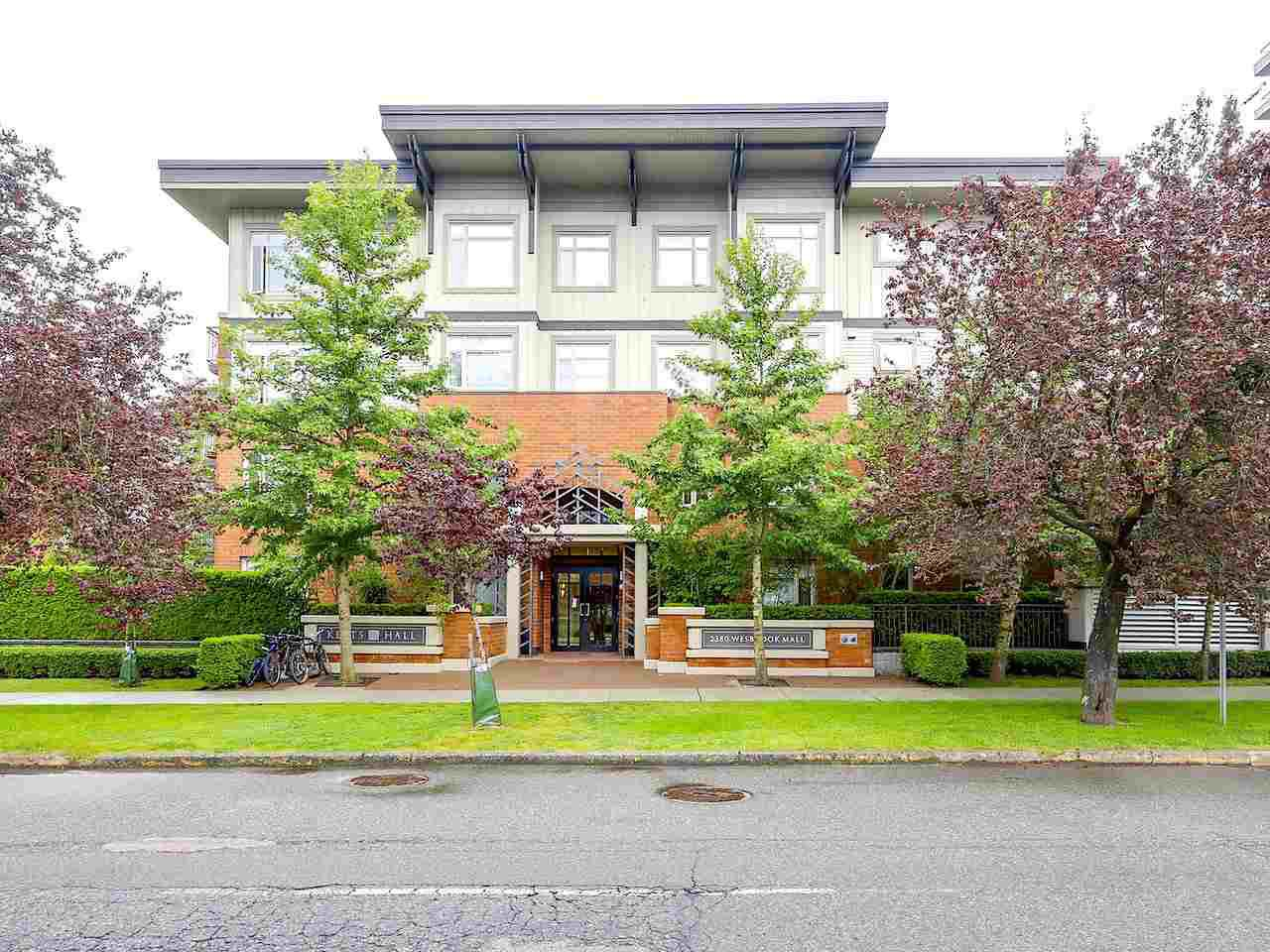 "Main Photo: 413 2280 WESBROOK Mall in Vancouver: University VW Condo for sale in ""KEATS HALL"" (Vancouver West)  : MLS®# R2173808"