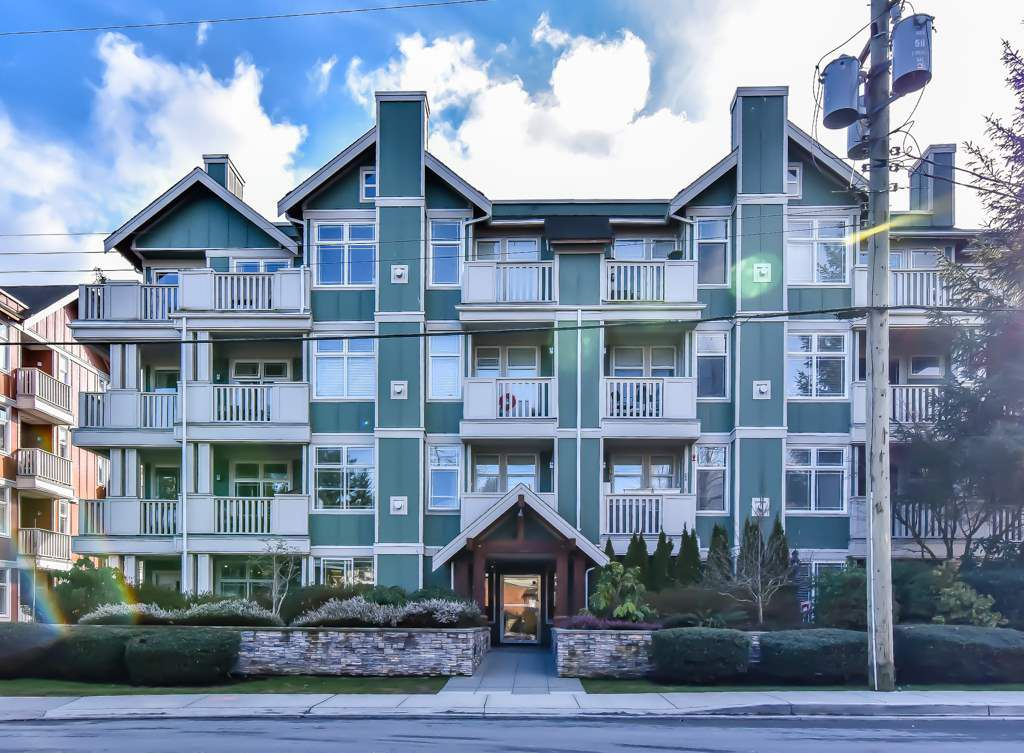 "Main Photo: 203 15350 16A Avenue in Surrey: King George Corridor Condo for sale in ""Ocean Bay  Villas"" (South Surrey White Rock)  : MLS®# R2244726"