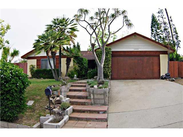 Main Photo: POWAY House for sale : 4 bedrooms : 14612 Poway Mesa