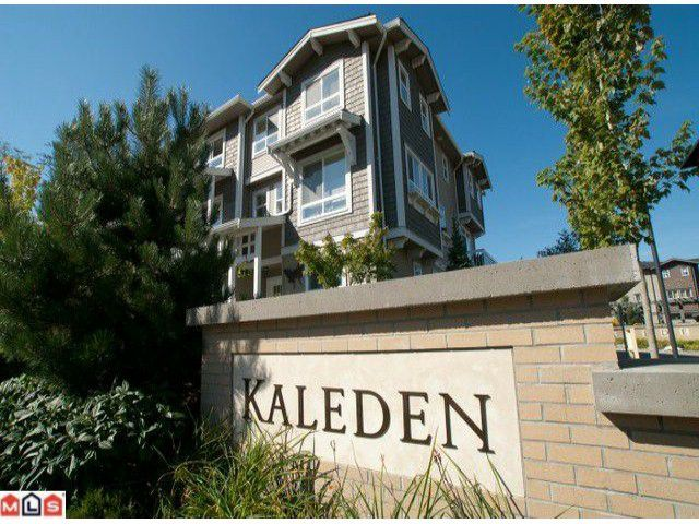 """Main Photo: 54 2729 158TH Street in Surrey: Grandview Surrey Townhouse for sale in """"Kaleden"""" (South Surrey White Rock)  : MLS®# F1122813"""
