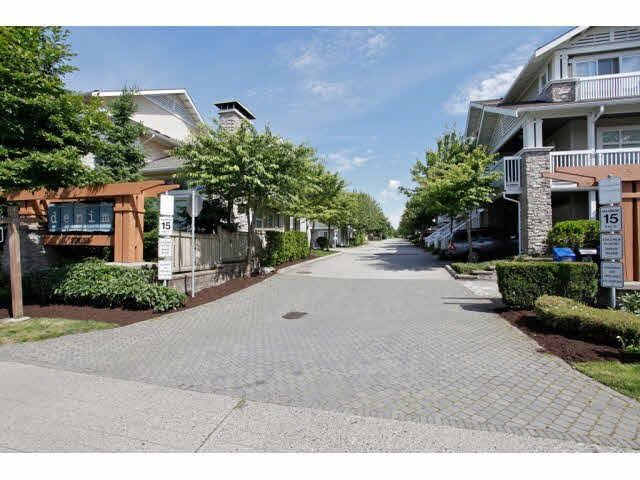 "Main Photo: 166 20033 70 Avenue in Langley: Willoughby Heights Townhouse for sale in ""DENIM"" : MLS®# F1440325"