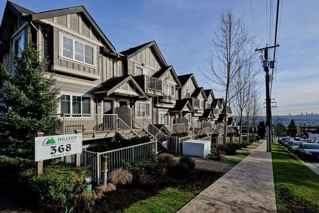 """Main Photo: 231 368 ELLESMERE Avenue in Burnaby: Capitol Hill BN Townhouse for sale in """"Hilltop Greene"""" (Burnaby North)  : MLS®# R2039942"""