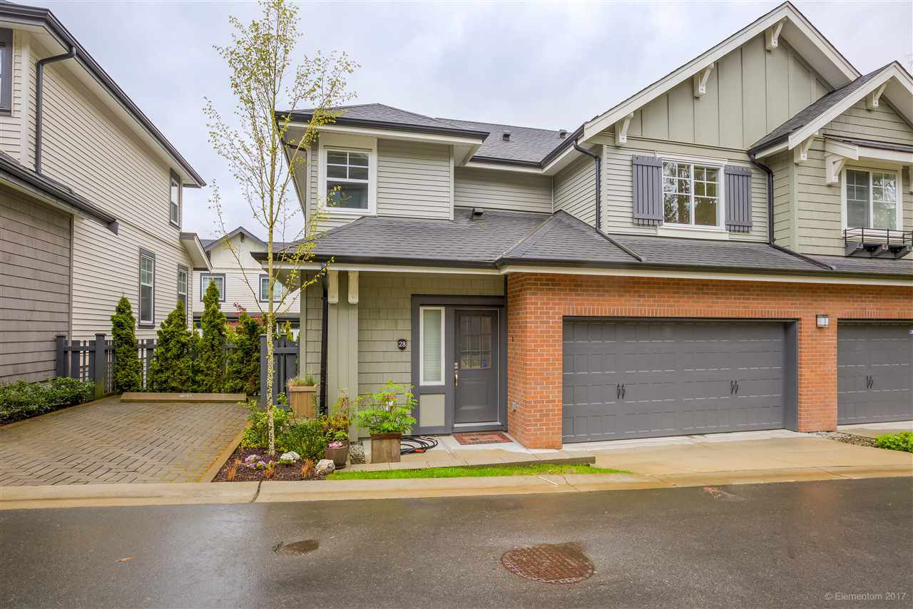 "Main Photo: 28 3470 HIGHLAND Drive in Coquitlam: Burke Mountain Townhouse for sale in ""BRIDLEWOOD"" : MLS®# R2162028"