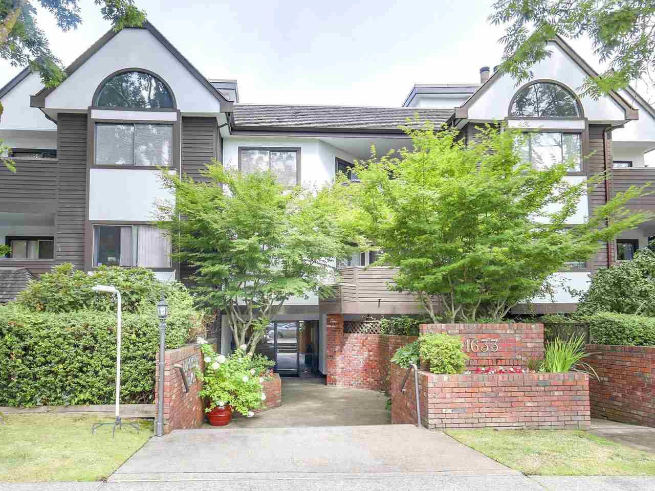Main Photo: 206 1633 W 11TH AVENUE in Vancouver: Fairview VW Condo for sale (Vancouver West)  : MLS®# R2197304