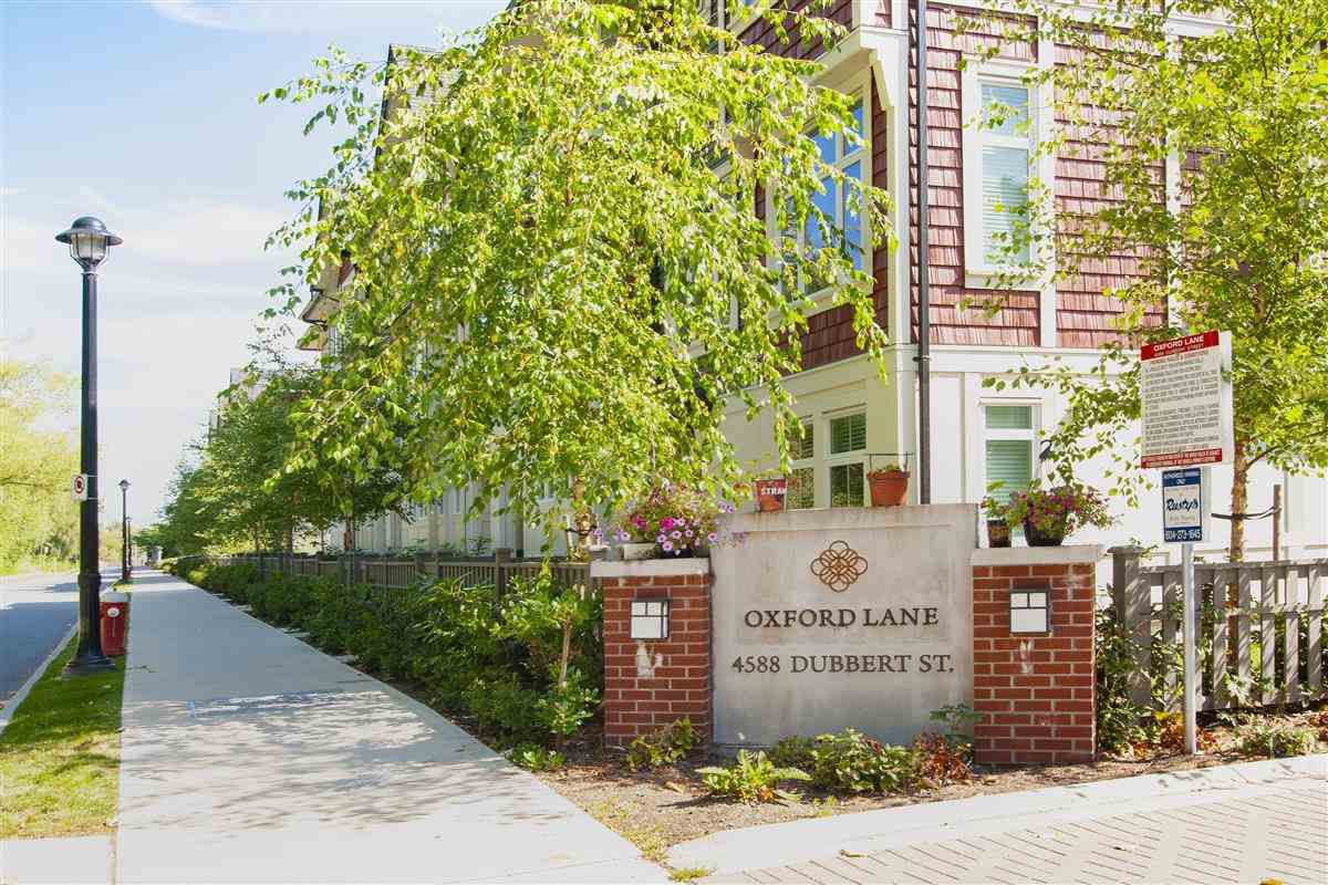 "Main Photo: 8 4588 DUBBERT Street in Richmond: West Cambie Townhouse for sale in ""Oxford Lane"" : MLS®# R2290295"
