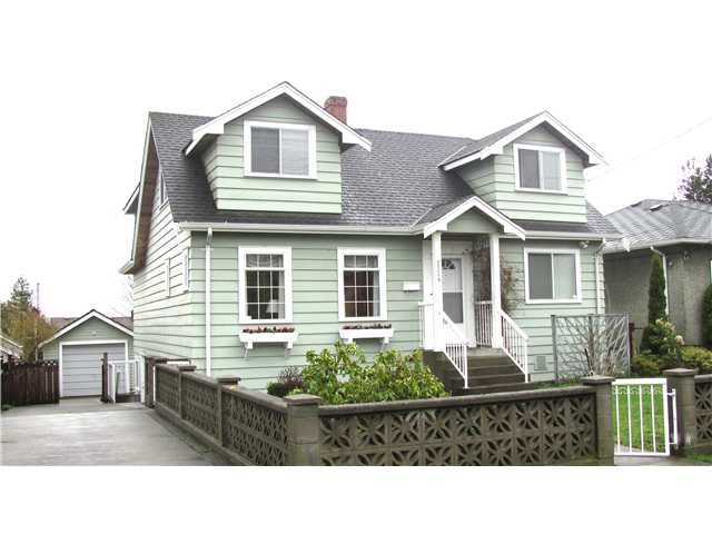 "Main Photo: 1524 DUBLIN Street in New Westminster: West End NW House for sale in ""WEST END"" : MLS®# V880284"