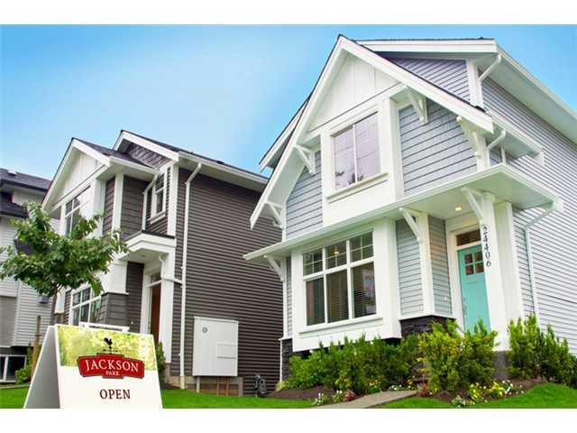 "Main Photo: 24416 102ND Avenue in Maple Ridge: Albion House for sale in ""JACKSON PARK BY OAKVALE DEV LTD"" : MLS®# V1054350"