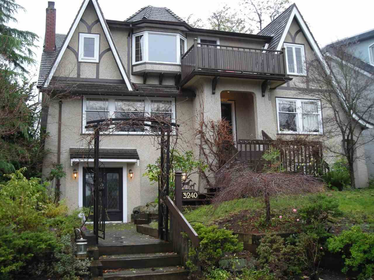 "Main Photo: 3240 W 21ST Avenue in Vancouver: Dunbar House for sale in ""Dunbar"" (Vancouver West)  : MLS®# R2000254"