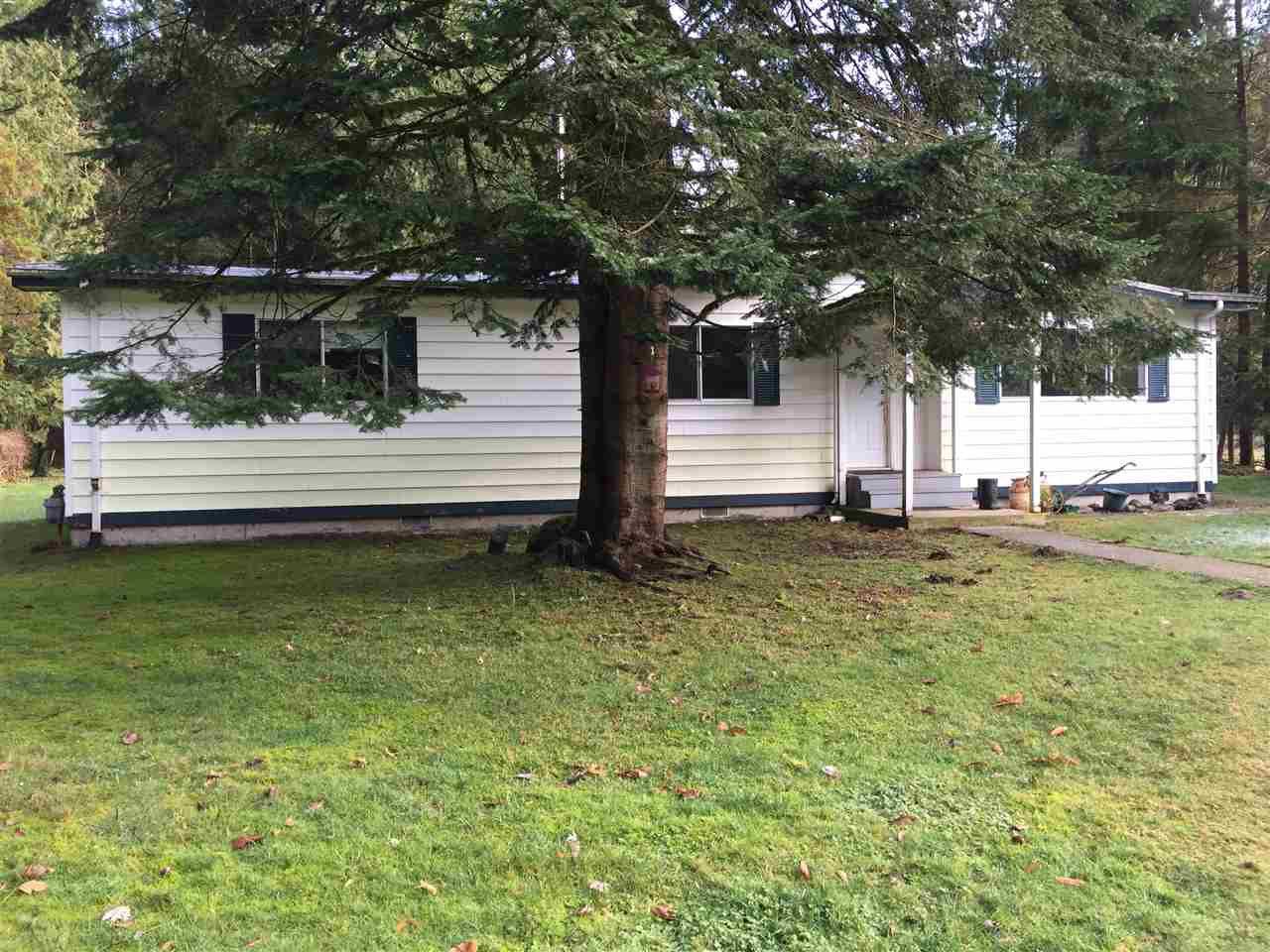 Main Photo: 11350 280 Street in Maple Ridge: Whonnock House for sale : MLS®# R2227417