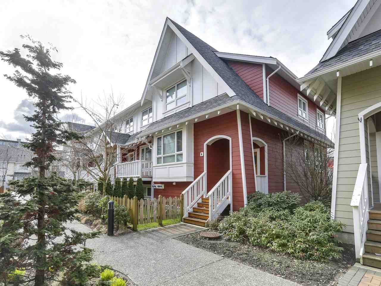 """Main Photo: 6 218 CAMATA Street in New Westminster: Queensborough Townhouse for sale in """"Canoe in Port Royal"""" : MLS®# R2246758"""