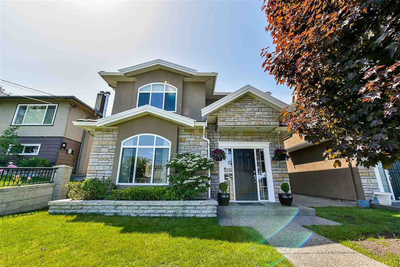Main Photo: 5217 ELSOM Avenue in Burnaby: Forest Glen BS House 1/2 Duplex for sale (Burnaby South)  : MLS®# R2269256