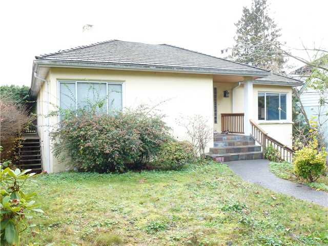 Main Photo: 1430 HAYWOOD Avenue in West Vancouver: Ambleside House for sale : MLS®# V921662