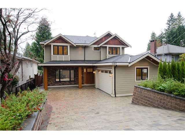 Main Photo: 1187 DORAN Road in North Vancouver: Lynn Valley House for sale : MLS®# V1035588