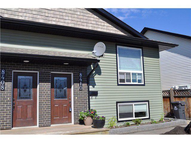 Main Photo: 8410 87TH Street in Fort St. John: Fort St. John - City SE House 1/2 Duplex for sale (Fort St. John (Zone 60))  : MLS®# N236958