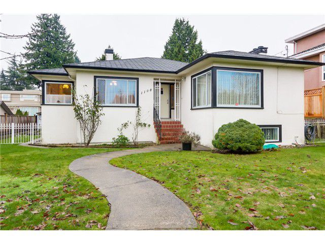 Main Photo: 1108 W 41ST Avenue in Vancouver: South Granville House for sale (Vancouver West)  : MLS®# V1096293