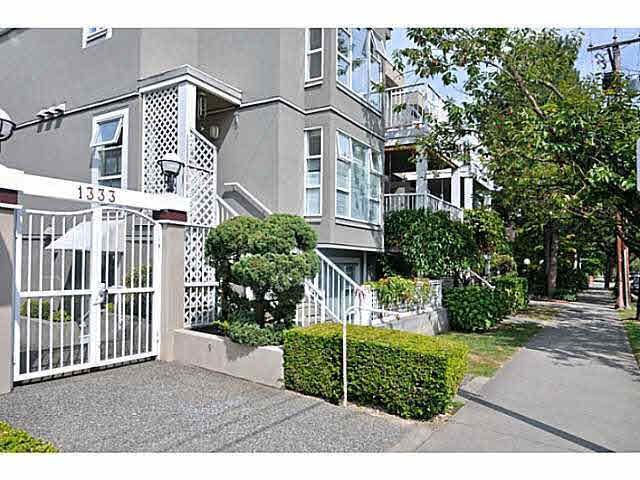 """Main Photo: 201 1333 W 7TH Avenue in Vancouver: Fairview VW Condo for sale in """"WINDGATE ENCORE"""" (Vancouver West)  : MLS®# V1101433"""