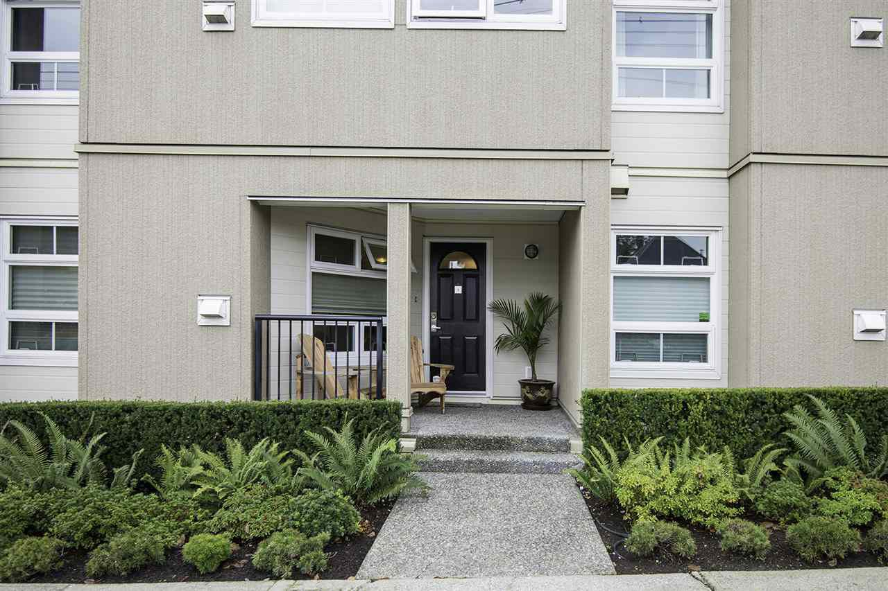 """Main Photo: 4 1350 W 6TH Avenue in Vancouver: Fairview VW Townhouse for sale in """"PEPPER RIDGE"""" (Vancouver West)  : MLS®# R2012322"""