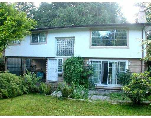 Main Photo: 2950 WEMBLEY DR in North Vancouver: Westlynn Terrace House for sale : MLS®# V548486