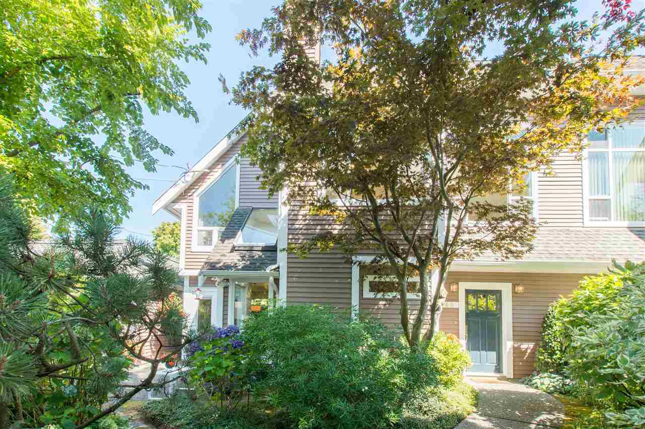 Main Photo: 2360 WATERLOO Street in Vancouver: Kitsilano House 1/2 Duplex for sale (Vancouver West)  : MLS®# R2101486