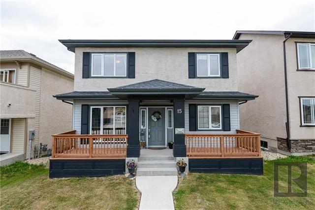 Main Photo: 15 Bellflower Road in Winnipeg: Bridgwater Forest Residential for sale (1R)  : MLS®# 1822481