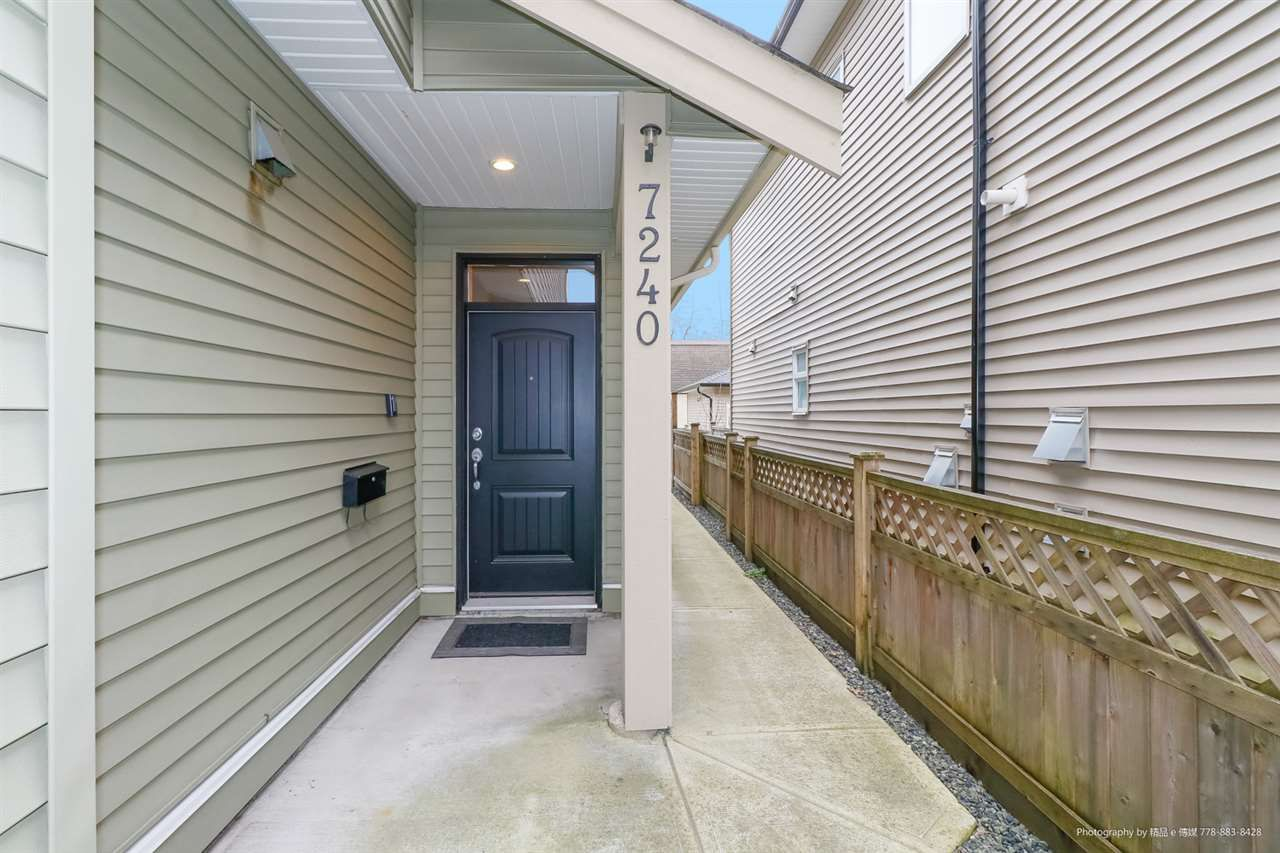Main Photo: 7240 STRIDE Avenue in Burnaby: Edmonds BE House 1/2 Duplex for sale (Burnaby East)  : MLS®# R2337519