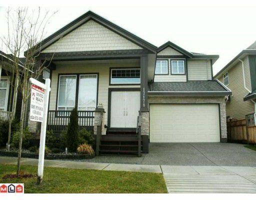 Main Photo: 17178 65TH AV in : Cloverdale BC House for sale : MLS®# F1002628