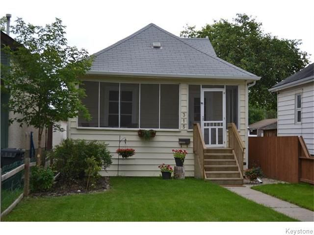 Main Photo: 315 Hampton Street in Winnipeg: St James Residential for sale (West Winnipeg)  : MLS®# 1620568