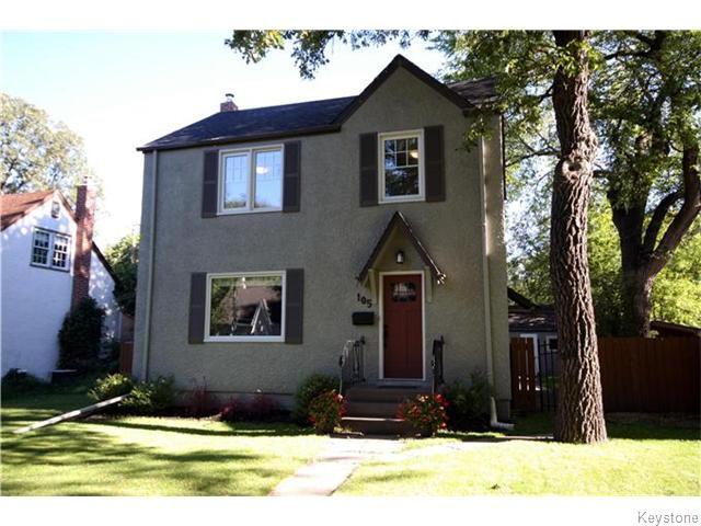 Main Photo: 105 Dunrobin Avenue in Winnipeg: Fraser's Grove Residential for sale (3C)  : MLS®# 1623700