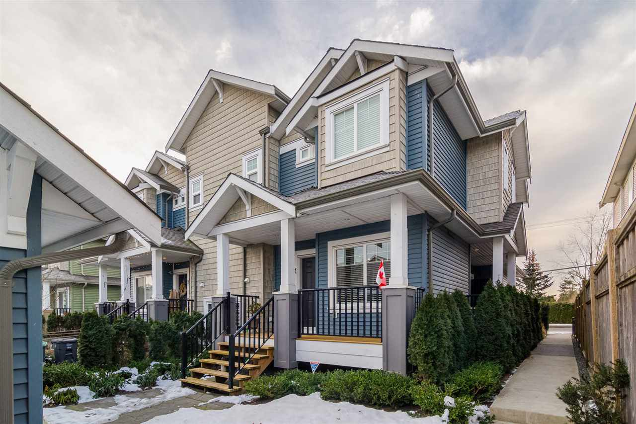 Main Photo: 1 19295 72 Avenue in Surrey: Clayton Townhouse for sale (Cloverdale)  : MLS®# R2129711