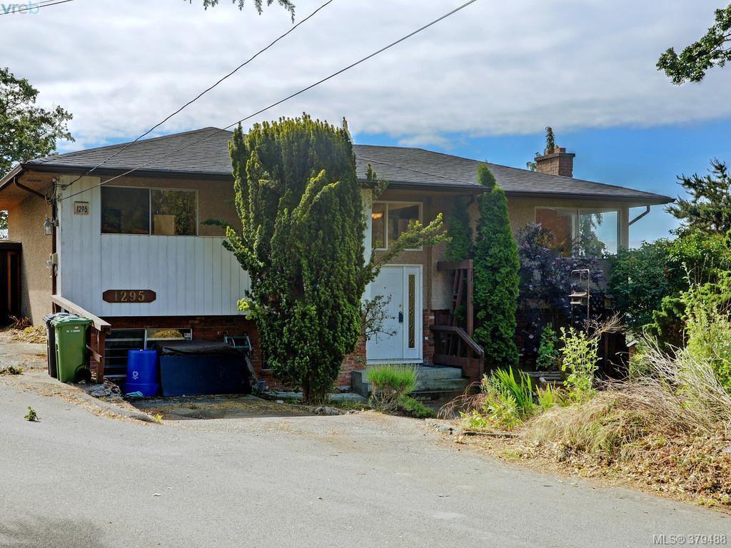 Main Photo: 1295 Montrose Avenue in VICTORIA: Vi Hillside Single Family Detached for sale (Victoria)  : MLS®# 379488