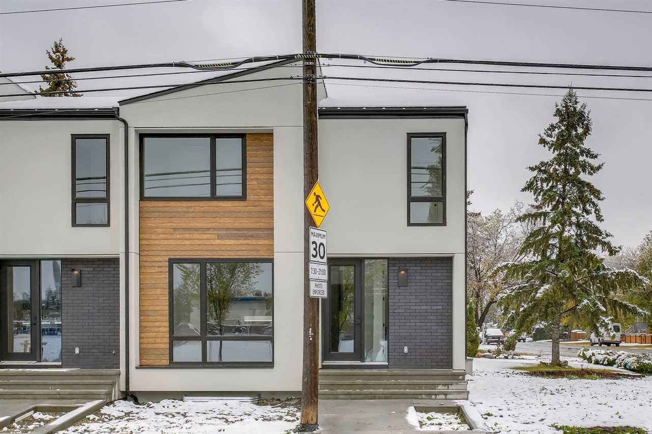 Main Photo: 16110 99 Avenue in Edmonton: Zone 22 Townhouse for sale : MLS®# E4130256
