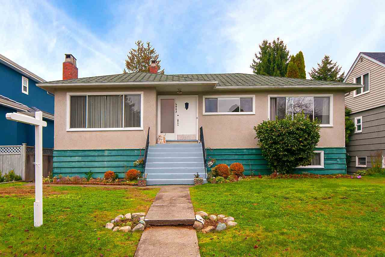 Main Photo: 4063 W 28TH Avenue in Vancouver: Dunbar House for sale (Vancouver West)  : MLS®# R2321893