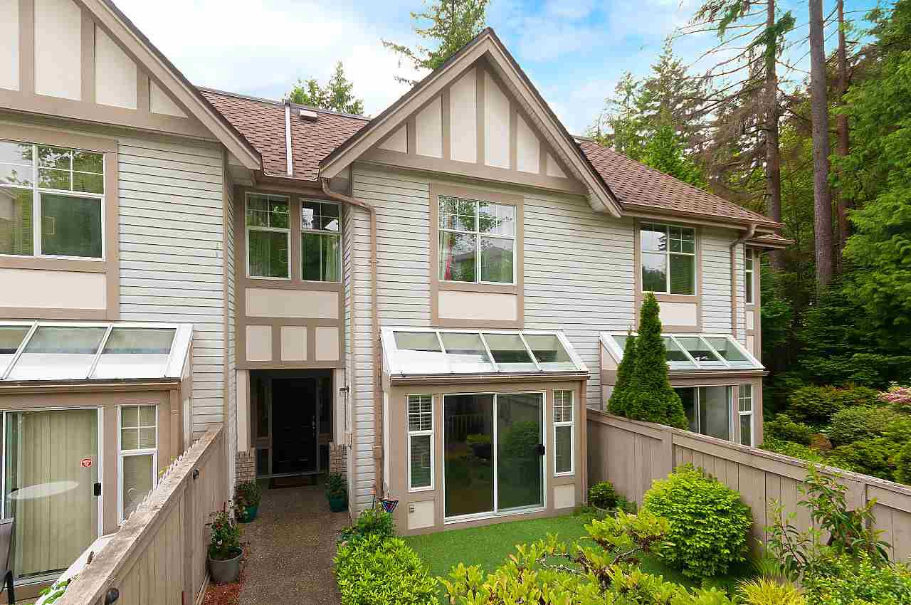 "Main Photo: 19 1 ASPENWOOD Drive in Port Moody: Heritage Woods PM Townhouse for sale in ""Summit Pointe"" : MLS®# R2376709"