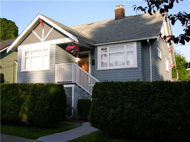 Main Photo: 3775 WINDSOR Street in Vancouver: Fraser VE House for sale (Vancouver East)  : MLS®# V869666