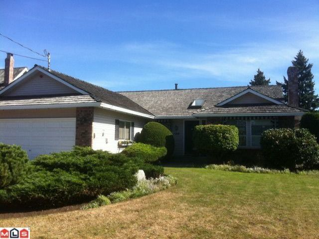 "Main Photo: 1768 130TH Street in Surrey: Crescent Bch Ocean Pk. House for sale in ""Summerhill Area in Ocean Park"" (South Surrey White Rock)  : MLS®# F1123665"