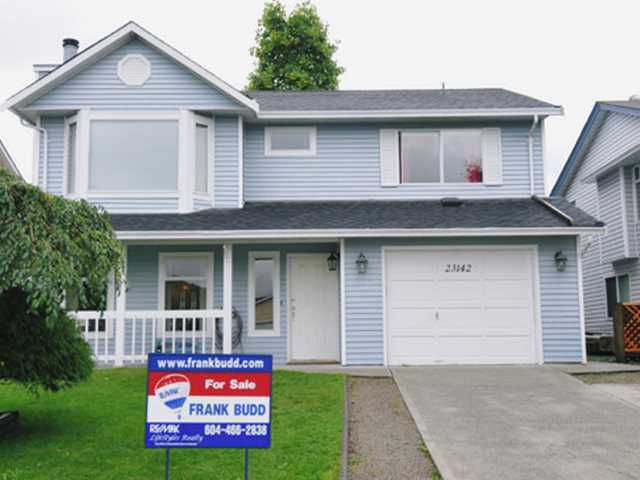 "Main Photo: 23142 PEACH TREE Court in Maple Ridge: East Central House for sale in ""BLOSSOM PARK"" : MLS®# V915180"