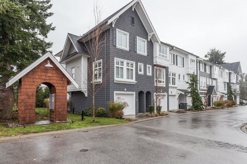 "Main Photo: 17 2487 156 Street in Surrey: King George Corridor Townhouse for sale in ""DAWSON SAWYER/SUNNYSIDE"" (South Surrey White Rock)  : MLS®# R2018527"