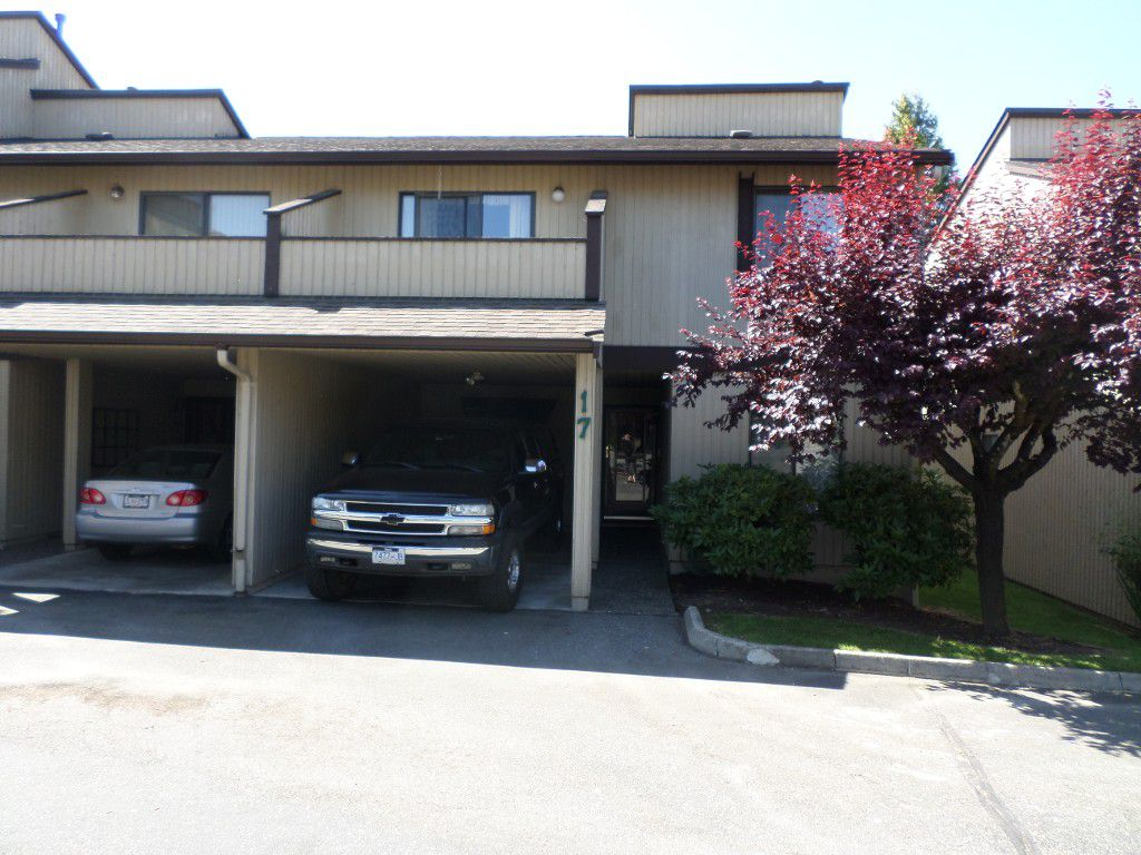 Main Photo: 17 2962 Nelson Place in Abbotsford: Central Abbotsford Townhouse for sale : MLS®# R2182873
